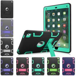 """For Apple iPad 4th Generation 9.7"""" Tough Rubber Heavy Shockp"""