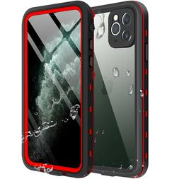 For Apple iPhone 11 Pro Max Waterproof Case Cover w/Built-in