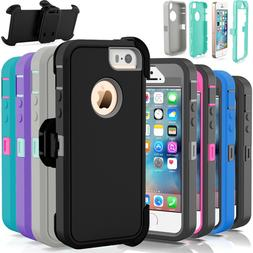 For Apple iPhone 5C 5 5S SE Shockproof Hard Case Cover
