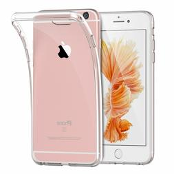 For Apple iPhone 6S 6 4.7 Silicone Clear Case Soft Gel Cover
