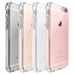 For Apple iPhone 6S/6 Case Clear Hybrid Slim Shockproof Soft