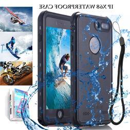 for Apple iPhone 7 8 Plus Waterproof Shock-Proof Dirt/Dust-P