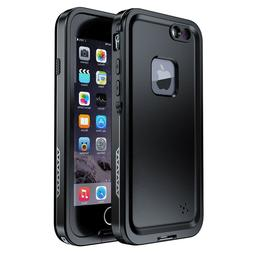 For Apple iPhone 7 8 Plus Waterproof Case Cover with Built-i
