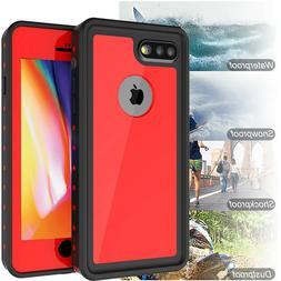 For Apple iPhone 8 Plus Waterproof Case Snowproof Shockproof