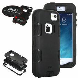 ULAK Hybrid Rugged Rubber Hard Shockproof Bumper Apple iPhon