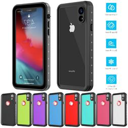 For Apple iPhone XR Life Waterproof Case Shockproof Dirtproo