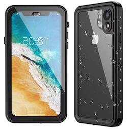 For Apple iPhone XR Waterproof Case Shockproof Cover w/Build