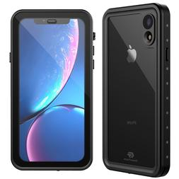 For Apple iPhone XR Life Waterproof Shockproof Case w/ Built