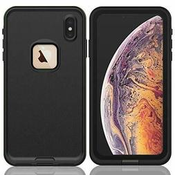 For Apple iPhone XR XS Max Waterproof Case Cover w/ Built-in