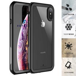 Waterproof Case for Apple iPhone Xs Max XR X Defender Shockp