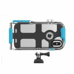 Apple iPhone Xs Max Waterproof Case Compatible with All GoPr
