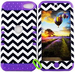 Apple iPod Touch 6 & 5th Cellphone Trendz Dual Layer Soft Ha