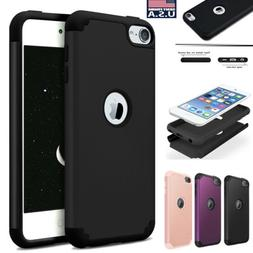 For Apple iPod Touch 7th 6th 5th Generation Silicone+PC Hybr