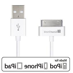 GreatShield Apple Licensed USB Sync & Charge Cable for iPod,