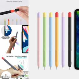 For Apple Pencil 1st 2nd Generation Soft Silicone Pen Protec