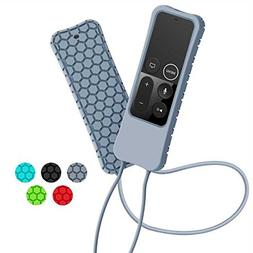 Sahiyeah Case Compatible for Apple TV Remote Case, Light Wei
