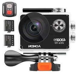 Aokon 4K Action Camera ARC100 12M Ultra HD Underwater Waterp