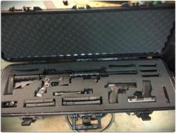 Plano Arms Gun Case Hard Shell Rifle Scope Storage Safe Box