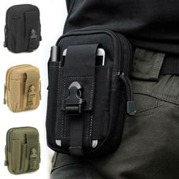 Army Tactical Holster Military Molle Waist Belt Bag Wallet C