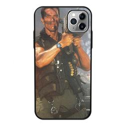 Arnold Schwarzenegger movie Commando 1985 poster phone <font
