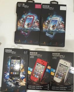 Authentic New LIFEPROOF Fre WATERPROOF CASE IPHONE 4 4S 5 5S