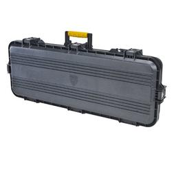 """Plano AW Tactical Case 42"""" Black w/Yellow Latches and Handle"""