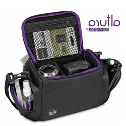 Medium Camera Bag Case by Altura Photo for Nikon, Canon, Son