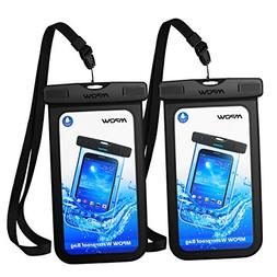 "Bag Waterproof Case Universal Dry Cellphone Pouch under 6"" 2"