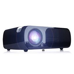 iRULU BL20 Mini Video Projector LED Projector Support 1080P