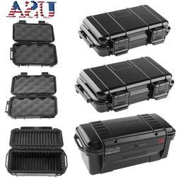 Black ABS Plastic Outdoor Shockproof Sealed Waterproof Stora