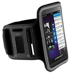 Black ArmBand Workout Case Arm Band Cover Screen protector F