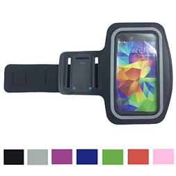 New Vinabty Black Sports Running Armband with Key Holder, Wa