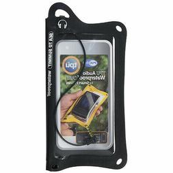BLACK TPU Audio Waterproof Durable Outdoor Hiking Camping Sp