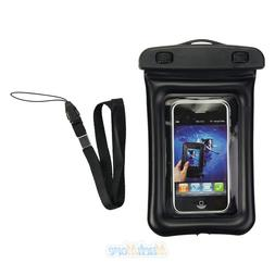 Black Waterproof Dry Pouch Bag Case For Camera Cell Phone PD