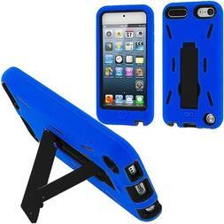 Importer520 Blue / Black Hybrid Rugged Hard Silicone Case Co