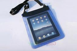 Blue Waterproof Dry Bag Pouch Case Cover FOR PC Tablet TAB 9