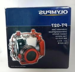 Olympus Camedia PT-027 Waterproof Camera Case/Housing for un