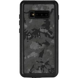 Camouflage Galaxy S10 Plus Waterproof Case - Digital Camo