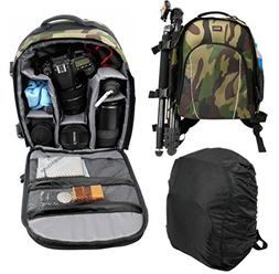Water-Resistant Drone Backpack with Customizable Interior +