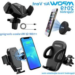Mpow Car Mount Phone Holder Magnetic Air Vent Cradle Grip St