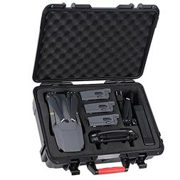 Smatree Mavic Pro Waterproof Carrying Case Compatible for Ma