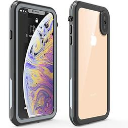 Case for iPhone Xs Max, EONFINE Waterproof Full-Body Rugged