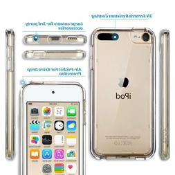 Clear Silicone Gel Case & Screen Guard For iPod Touch 6 6G 6