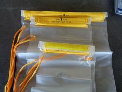 1 HTS Clear Waterproof Dry Bags Water Tight Cases Pouch for
