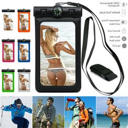 Waterproof Dry Bag Swimming Case Pouch Cover With Compass Fo