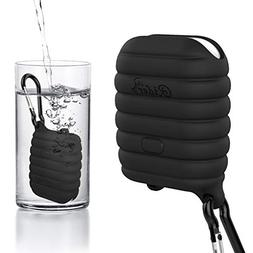 Compatible Waterproof Airpods Case, Shock Resistant Silicone