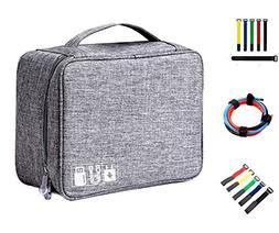 Travel Cord Organizer Bag Universal Electronics Water Proof