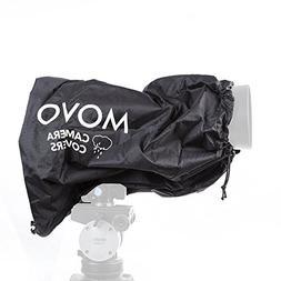 Movo CRC17 Storm Raincover Protector for DSLR Cameras, Lense