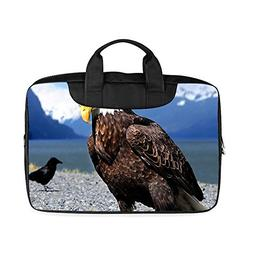 "Custom The bald eagle Laptop Bag for 11"" Mac Book Air Water-"