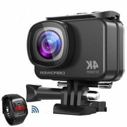 DBPOWER 4K Action Camera WIFI 12MP Waterproof Sport Camera 1